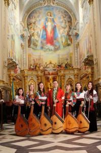 Les cordes et voix magiques d'Ukraine, - Tournée France 2015